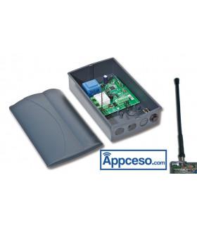 Receptor Pujol REV VARIOCODE Ampliable 255 códigos 433 Mhz.