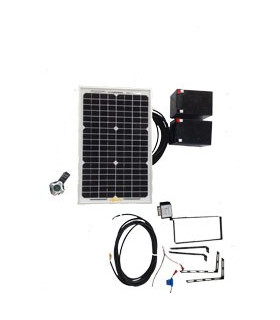 Kit Panel Solar + Cargador Pujol