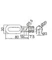 Enganche desbloqueo CYCLONE Ref.5016577A