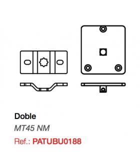 Soporte doble para motor Twister MT 45 NM (180+187)