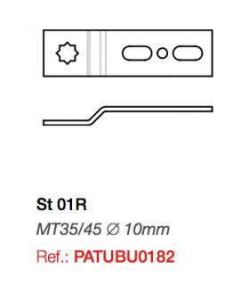 Soporte ST01R para motor Twister MT35/45