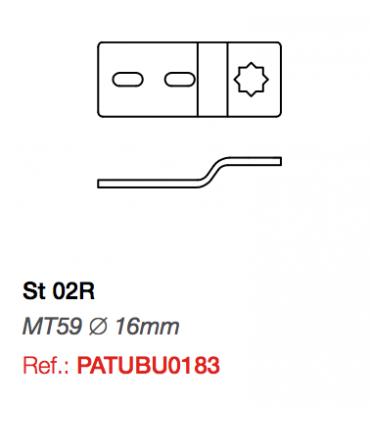Soporte ST02R para Motor Twister MT59