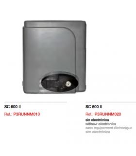 KIT SC 600 Runner 600 230V + 4mts. Cremal metal +Antena+ Emisores Black 6 canales