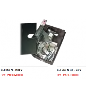 Motoreductor Electromecánico enterrado ELI 250 BT irreversible 24 V. DC
