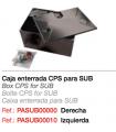 CPS  Caja enterrada Derecha