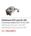 SCC Desbloqueo para ELI250 con llave de palanca