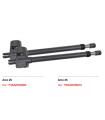Kit ARCO 25  Irreversible. 2,5 mts.  Derecha/Izquierda+ Senior Pro +2 Black+ Fotocelula+lampara +wallkey