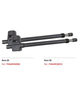Kit ARCO 25  Irreversible. 2,5 mts.  Derecha/Izquierda+ Senior Pro +2 Black+ Fotocelula+lampara