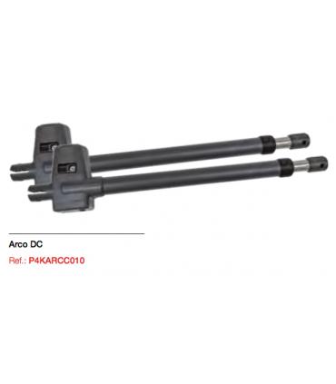 KIT ARCO 25 24DC Irreversible. 2,5 mts.  Derecha/Izquierda+ AX24+ TRV+ 2 Black