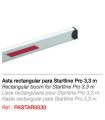 Asta para Startline Pro 3,3m Rectangular