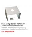 Base anclaje barrera Startline Pro
