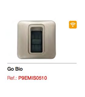 Emisor biométrico de pared GO BIO 868 Mhz. Montaje Superficie