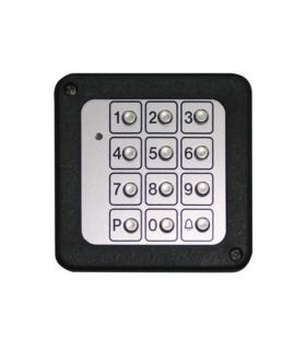 Teclado vía radio compatible Vario P-215 Teclado metálico KEYPAD-M