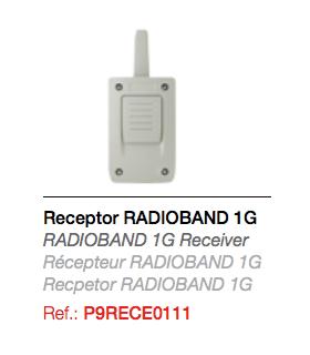 RECEPTOR RADIOBAND 1G para Banda con emisor integrado