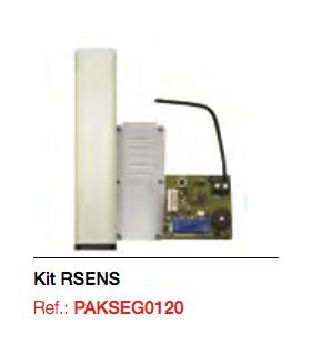 Kit. RSENS (cuadro+emisor RS3+receptor enchufable)+ Cuadro M8 IP22