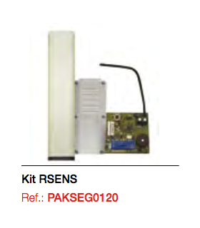 Kit. RSENS (cuadro+emisor RS3+receptor enchufable)+ Cuadro M8 IP65